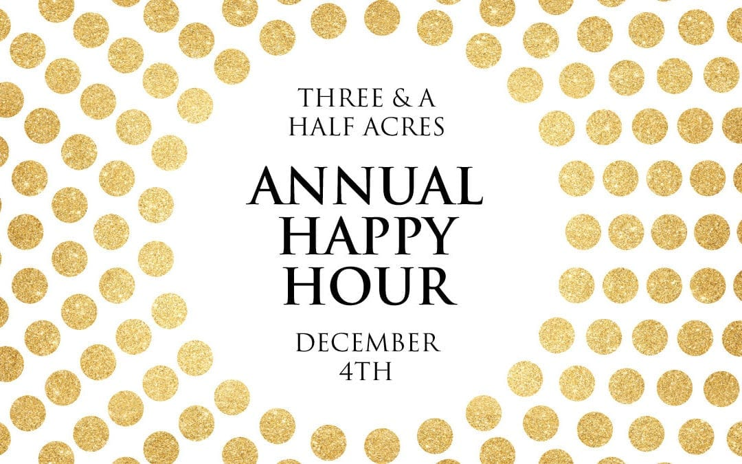 THAY – Annual Happy Hour December 4th